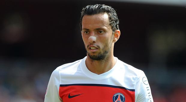 Former Paris St Germain forward Nene is understood to be having a medical at West Ham