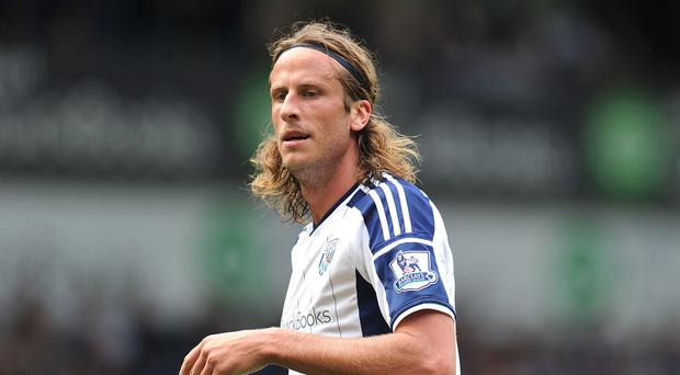 Jonas Olsson looks set for a first-team return for West Brom after a long period of absence