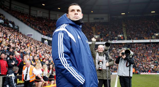 Sunderland manager Gus Poyet, pictured, has written an open letter to fans
