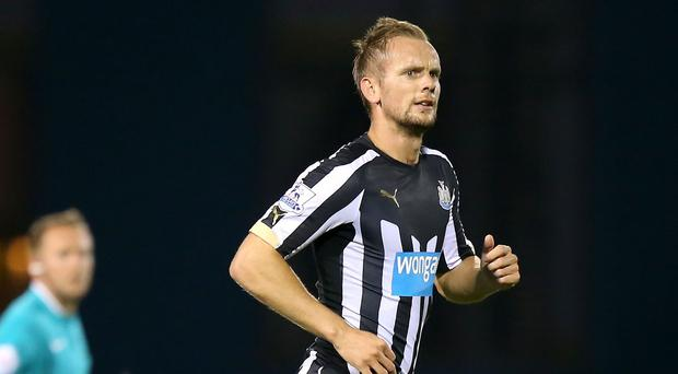 Newcastle head coach John Carver is confident midfielder Siem de Jong, pictured, will return fitter and stronger after undergoing surgery on a collapsed lung