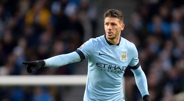 Manchester City defender Martin Demichelis, pictured, is poised to sign a new contract, according to manager Manuel Pellegrini