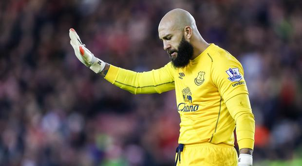 Tim Howard's form has dipped considerably since he returned from the World Cup last year