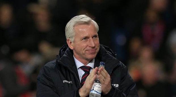 Crystal Palace boss Alan Pardew, pictured, believes his side are capable of mixing it with the best in the Premier League