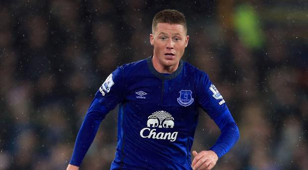 James McCarthy has made 22 appearances for Everton this season