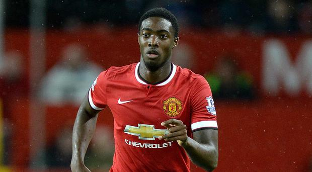 Tyler Blackett has made 10 appearances for United this season