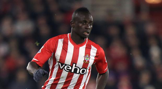 Southampton's Sadio Mane is back in contention for a starting spot
