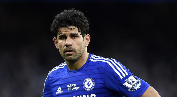 Diego Costa has been a frustrated spectator in recent weeks