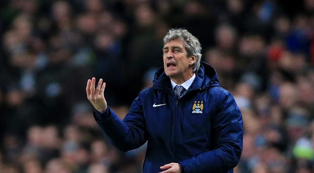 Manuel Pellegrini does not see Liverpool's late return from Turkey as a 'decisive' advantage for Manchester City