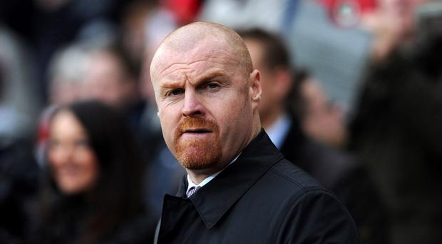 Burnley manager Sean Dyche is feeling the love for his side's fighting spirit