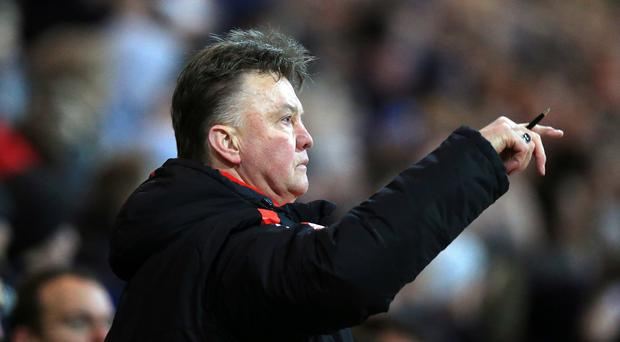 Louis van Gaal is refusing to contemplate Manchester United missing out on the Champions League