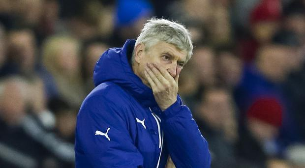 Arsene Wenger's Arsenal will look to put their European misery behind them when Everton visit on Sunday