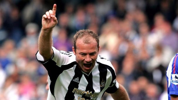 Former Newcastle striker Alan Shearer