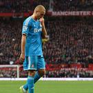 Wes Brown was wrongfully sent off against Manchester United on Saturday