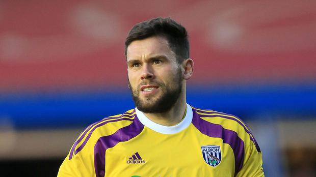 West Brom's England goalkeeper Ben Foster has damaged cruciate ligaments in his knee