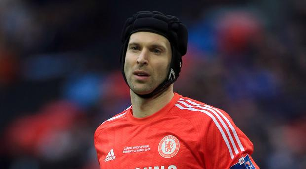 Chelsea's Petr Cech, pictured, will make a decision on his future this summer after being second choice this season