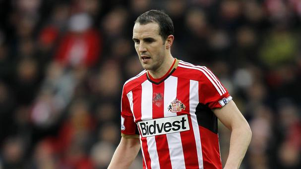 John O'Shea is aiming to steer Sunderland to safety
