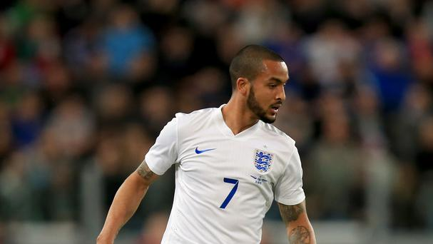 Arsenal forward Theo Walcott had a frustrating performance with England in the friendly against Italy.