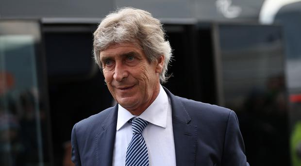 Manuel Pellegrini hopes Manchester City remain in the top four