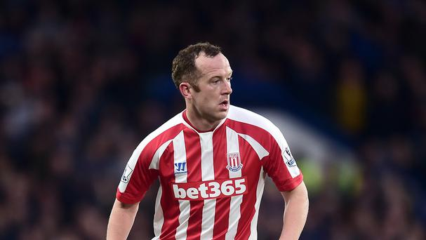Stoke midfielder Charlie Adam, pictured, reflected on his wonder goal against Chelsea with mixed emotions