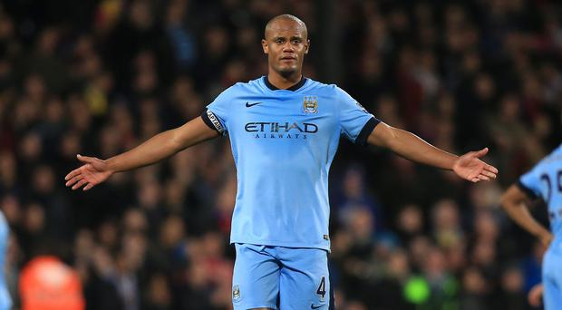 Vincent Kompany believes the derby has come at a good time for Manchester City