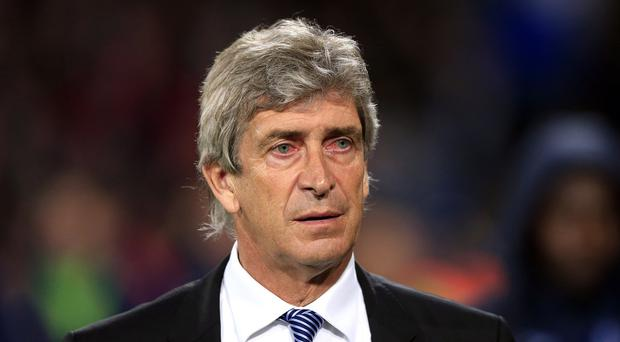 Manuel Pellegrini's team lost 2-1 at Selhurst Park on Monday, but the Chilean looks to be safe for now