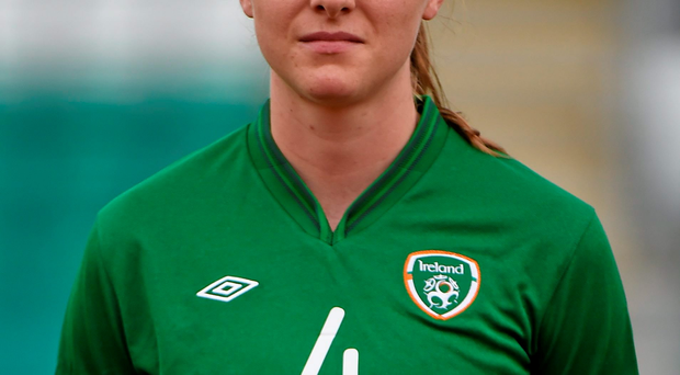 The Republic of Ireland's Louise Quinn