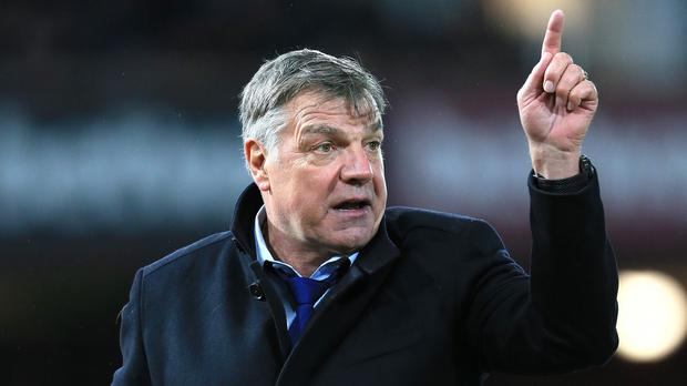 Sam Allardyce is out of contract in the summer