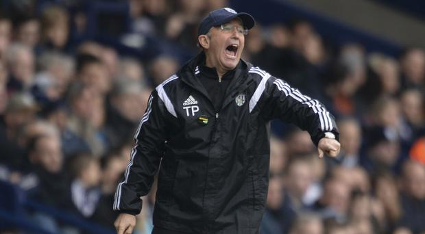 West Brom boss Tony Pulis is confident owner Jeremy Peace will sell to the right people