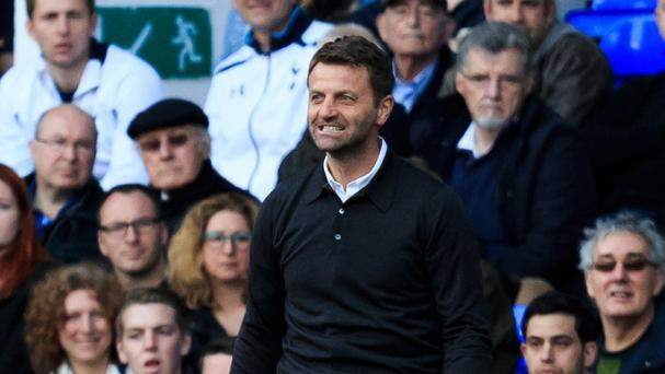Tim Sherwood led his Aston Villa side to victory at his former club Tottenham