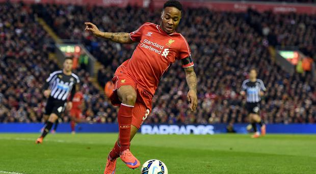 Liverpool will speak to Raheem Sterling, pictured, following the emergence of controversial footage