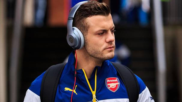 Arsenal midfielder Jack Wilshere cannot wait to get back into action with Arsenal