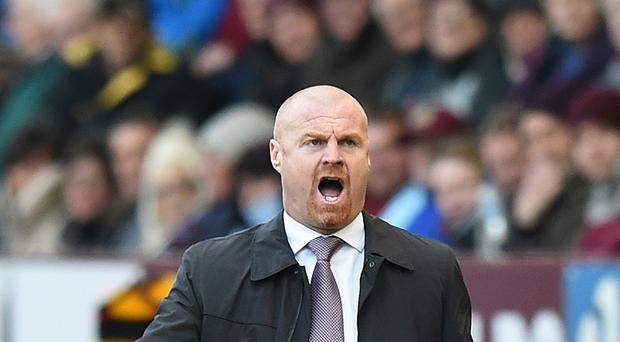 Burnley manager Sean Dyche claims there is too much diving in the Premier League