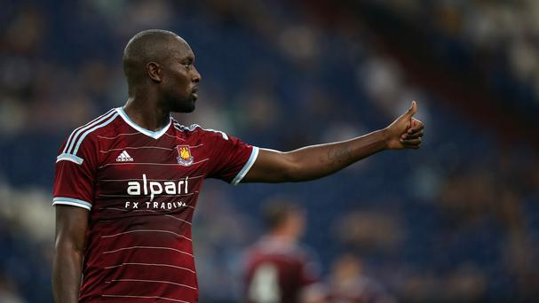 Sam Allardyce hopes Carlton Cole, pictured, can shine in Diafra Sakho's absence