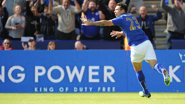 Leonardo Ulloa scored in Leicester's win
