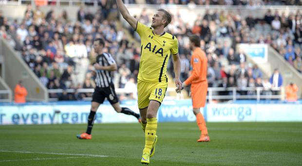 Harry Kane struck late on to make sure of the points for Spurs
