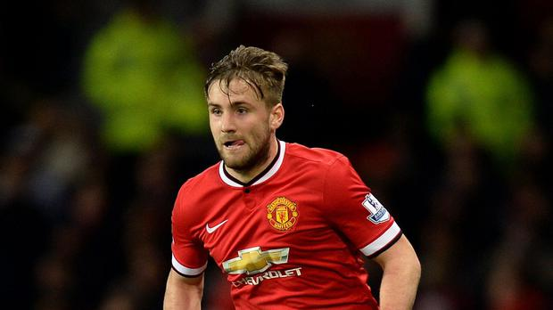 Luke Shaw, pictured, is hoping to kick-start his Manchester United career