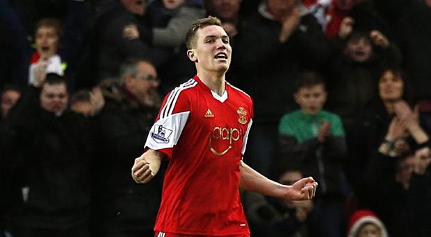 Sam Gallagher is hoping to force his way back into the Southampton first team