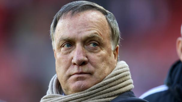 Head coach Dick Advocaat has set Sunderland a six-point target to preserve their Barclays Premier League status