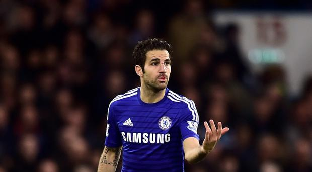 Cesc Fabregas opted to sign for Chelsea over Arsenal in the summer