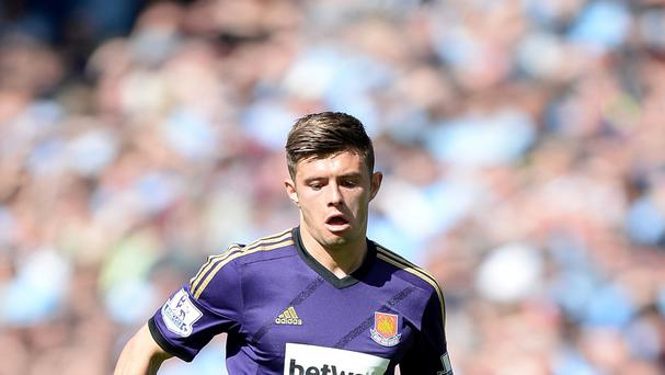 Aaron Cresswell has been told by manager Sam Allardyce that he should stay put at West Ham this summer
