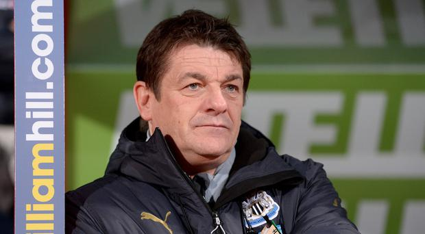 John Carver has no indication whether or not he will be in charge of Newcastle next season