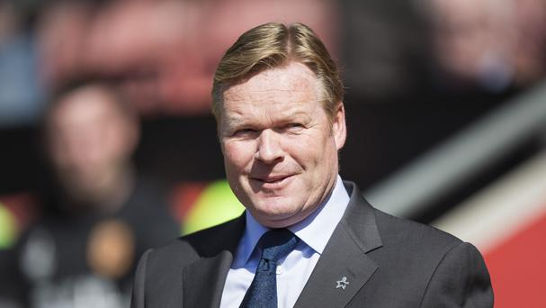 Ronald Koeman wants to see more common sense from his side
