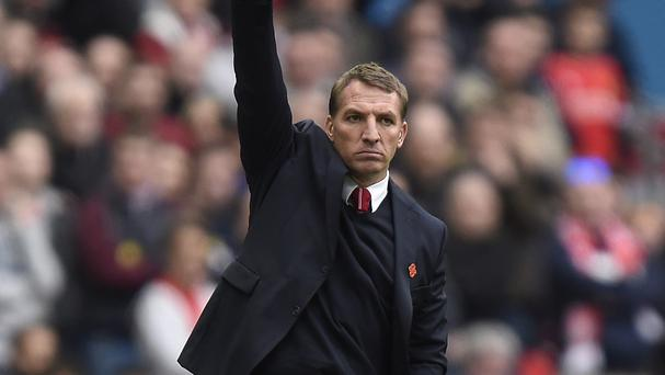 Brendan Rodgers insists there is no-one better than him to manage Liverpool