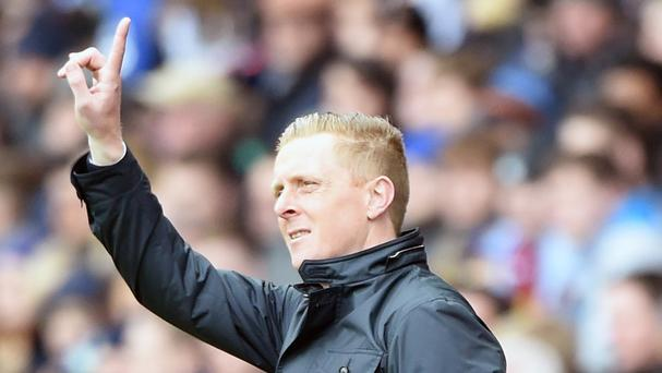 Garry Monk want to see Swansea finish the season strongly