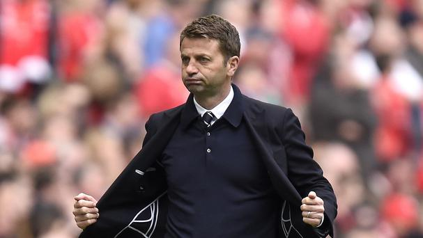 Tim Sherwood has warned Aston Villa against suffering the same fate as Wigan