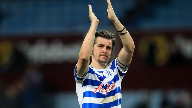 QPR midfielder Joey Barton is out of contract at the end of the season