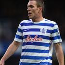 Richard Dunne thought he had given QPR a priceless lead only to see his effort chalked off