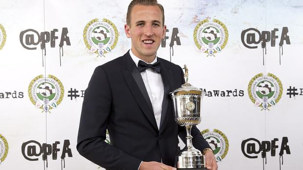 Harry Kane was voted the PFA Young Player of the Year