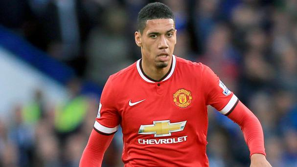 Chris Smalling and his team-mates lost their fifth away match of the season on Sunday