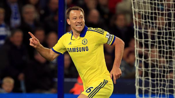 John Terry scored in Chelsea's win